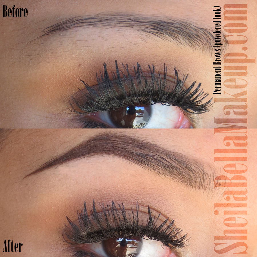 Feather Eyebrow Tattoo Before And After Permanenteyebrows6