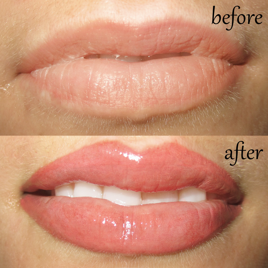 After: Lips : Sheila Bella Permanent Makeup And Microblading