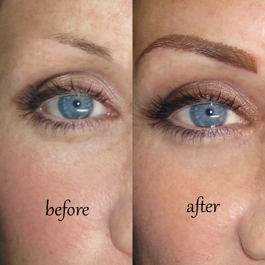 Eyebrow Tattoo Before And After: Best Permanent Makeup In Los Angeles