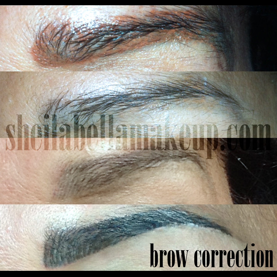 Permanent Brow Correction Sheila Bella Permanent Makeup And