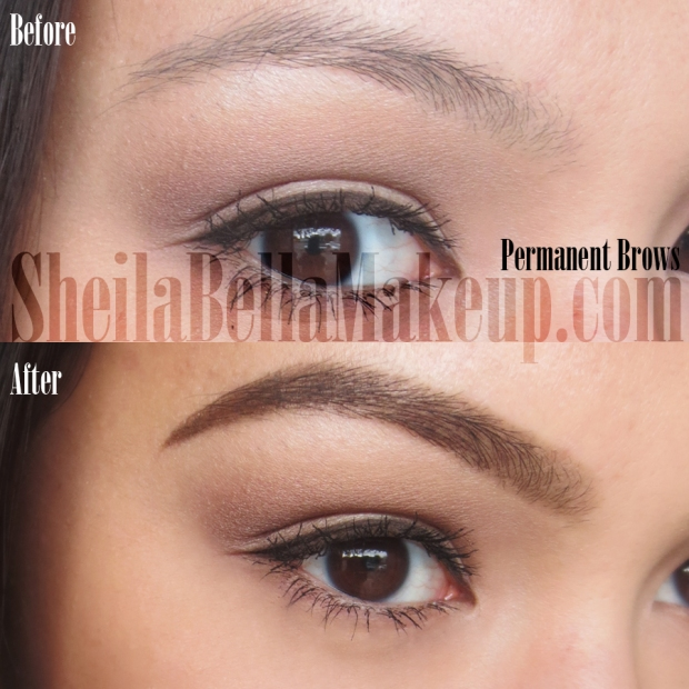 Powdered Permanent Eyebrows Best Permanent Makeup In Los Angeles