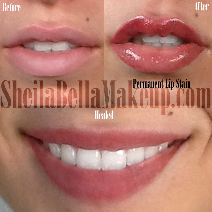 Healed Permanent Lips